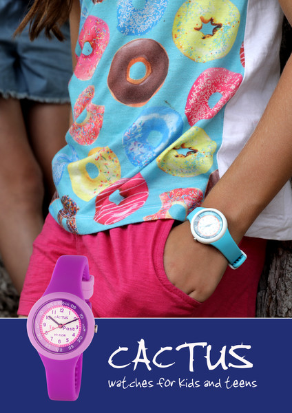CACTUS WATCHES - CACTUS FOR KIDS AND TEENS