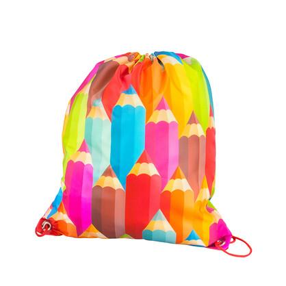 PENCILS DRAWSTRING BAG
