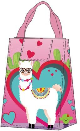 LLAMA HEART LUNCH BAG