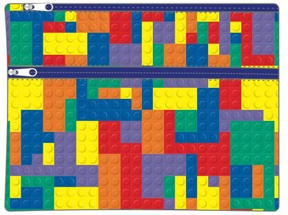 LEGO MANIA LARGE PENCIL CASE