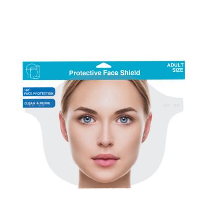Face Shield Clear Plain