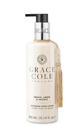 GRACE COLE -ORCHID AMBER & INCENSE - HAND LOTION
