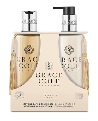 GRACE COLE - ORCHID AMBER & INCENSE - BODY DUO