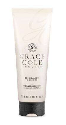 GRACE COLE - ORCHID AMBER & INCENSE -BODY SCRUB