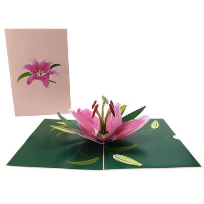 Pink Lilly Flower (FL051)