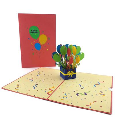 Happy Birthday Balloons (BD001)