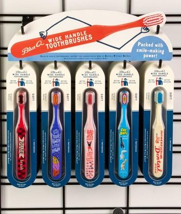 BD193 - Toothbrush Slatwall Sign