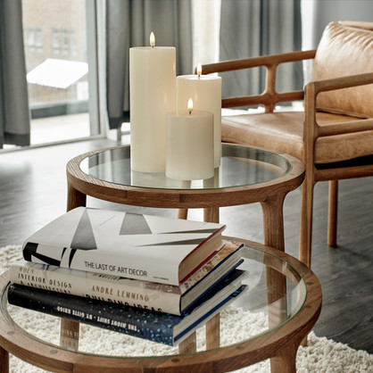 UYUNI LIGHTING - Classic Ivory Flameless Candles