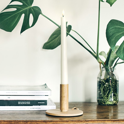 UYUNI LIGHTING - Classic Ivory Flameless Tapers